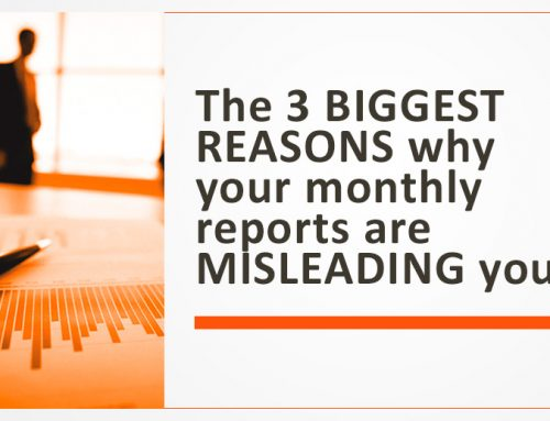 The 3 BIGGEST REASONS why your monthly reports are MISLEADING you!